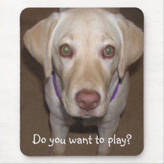 Do you want to play Yellow Lab Mousepad