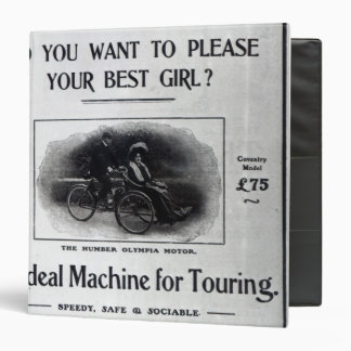 Do You Want to Please Your Best Girl? 3 Ring Binder