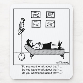 Do You Want To Talk About That? Mouse Pad