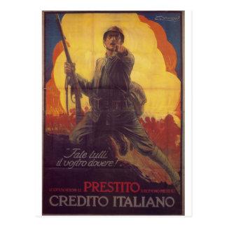 Do you whole duty  Propaganda Poster Postcard