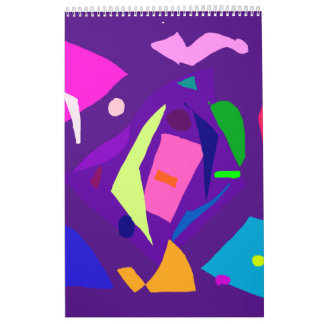 Do Your Best as a Human Being Purple Daylight Calendar