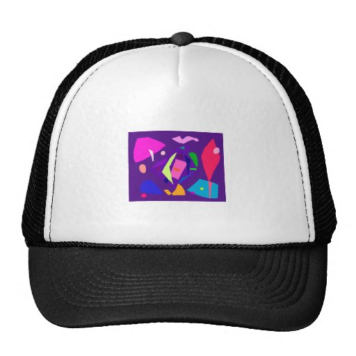 Do Your Best as a Human Being Purple Daylight Trucker Hat