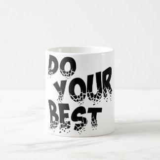 DO YOUR BEST COFFEE MUG