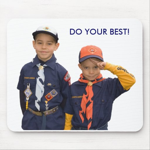 DO YOUR BEST! MOUSE PAD