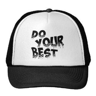 DO YOUR BEST TRUCKER HAT