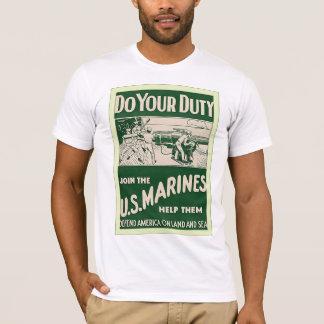 Do Your Duty ~ Vintage World War 1 T-Shirt