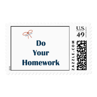 Do Your Homework Reminders Postage