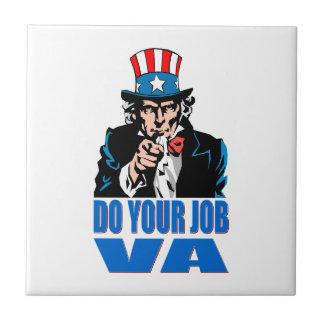 DO YOUR JOB VA (VETERANS AFFAIRS) TILE