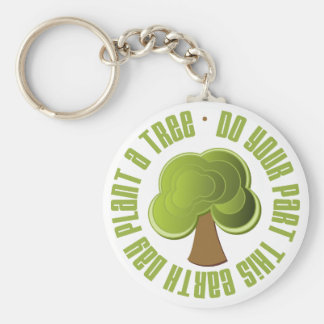 Do Your Part Plant a Tree Earth Day Tees and Gifts Keychain