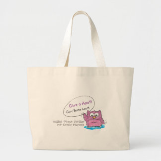 Do Your Part to Find a Cure! Canvas Bags