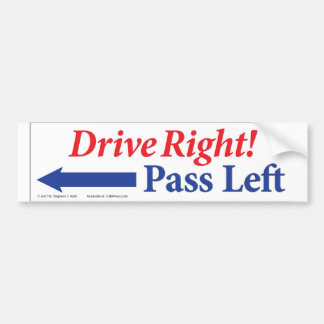 Do Your Part to Relieve Congestion Bumper Stickers