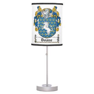 Doane Family Crest Desk Lamp