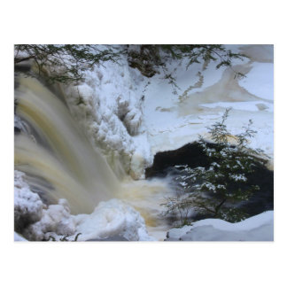 Doanes Falls Winter Postcard