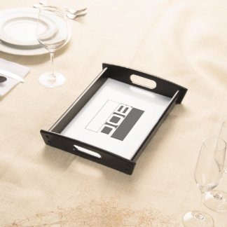 DOB Clothing Co. Small Serving Tray, Black Serving Tray