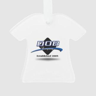 DOB Clothing Co. T-Shirt Ornament