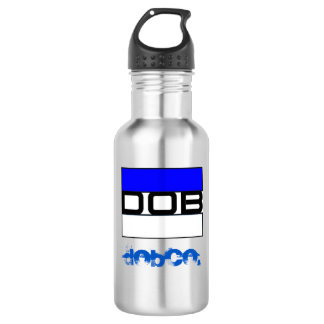 DOB Clothing Co. Water Bottle (18 oz), SSteel