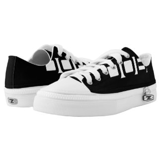 DOB Clothing Co. Zipz Low Top Shoes