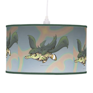 DOB CUTE ALIEN MONSTER LONG LAMP