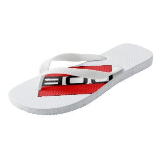 DOB Outerwear Flip-Flops Wide Straps Flip Flops