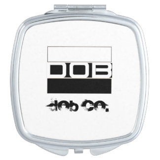 DOB Outerwear Ladies Cosmetic Mirror
