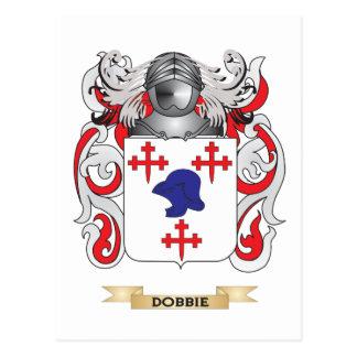 Dobbie Coat of Arms Postcard