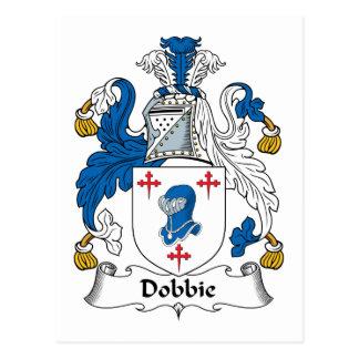 Dobbie Family Crest Postcard