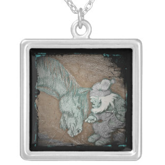 Dobbin and the Gnome Personalized Necklace