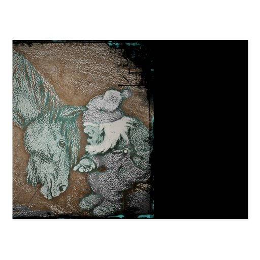 Dobbin and the Gnome Postcard