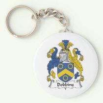 Dobbins Family Crest Keychain