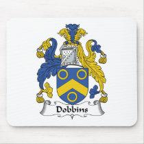 Dobbins Family Crest Mousepad