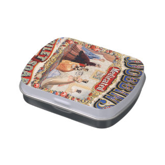 Dobbins' medicated toilet soap jelly belly candy tin