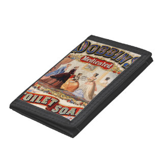 Dobbins' medicated toilet soap trifold wallets