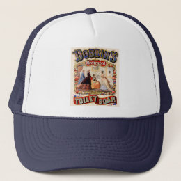 Dobbins' medicated toilet soap trucker hat