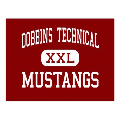 Dobbins Technical - Mustangs - High - Philadelphia Postcards
