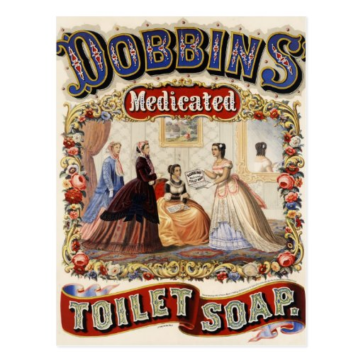 Dobbins Vintage Ad Post Cards