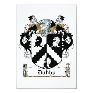 Dobbs Family Crest Personalized Invite