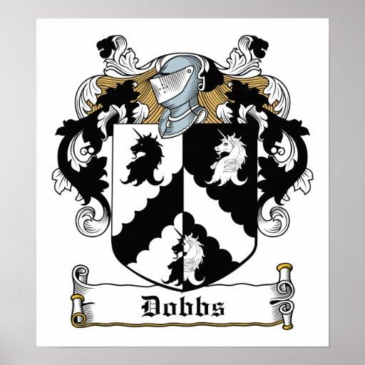 Dobbs Family Crest Poster