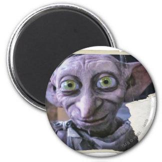 Dobby 1 imán redondo 5 cm