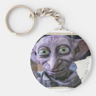 Dobby 1 basic round button keychain