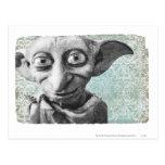 Dobby 4 tarjetas postales