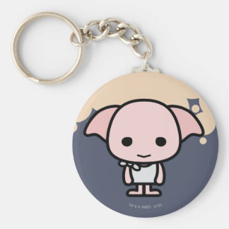 Dobby Cartoon Character Art Keychain