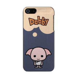 Dobby Cartoon Character Art Metallic Phone Case For iPhone SE/5/5s