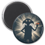 Dobby Casting Magic 2 Inch Round Magnet