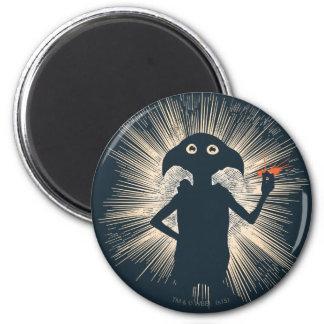 Dobby Casting Magic 2 Inch Round Magnet