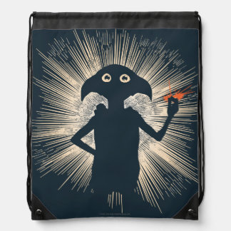 Dobby Casting Magic Drawstring Backpack