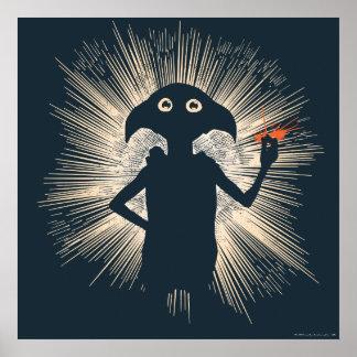Dobby Casting Magic Poster