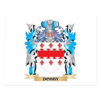 Dobby Coat of Arms - Family Crest Postcard
