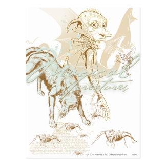 Dobby Postcard