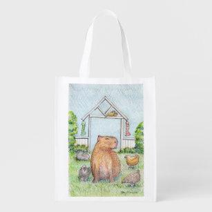 Dobby the capybara shopping bag
