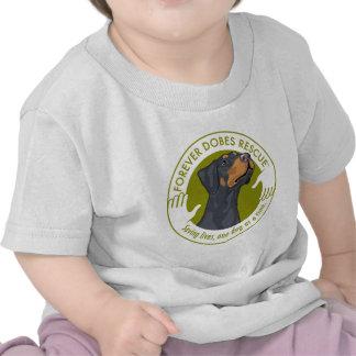 dobe-blue-uncropped-ear-logo-8-29-11 t shirts